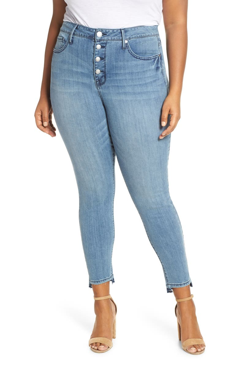 SEVEN7 High Rise Skinny Jeans, Main, color, SILENCE