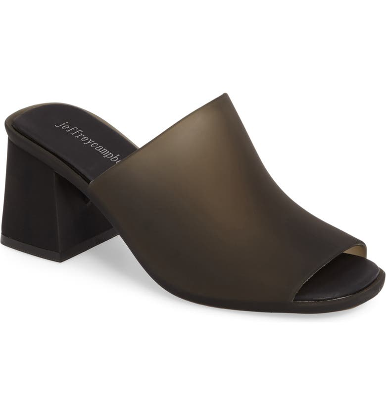 JEFFREY CAMPBELL Jelly Slide Sandal, Main, color, 001