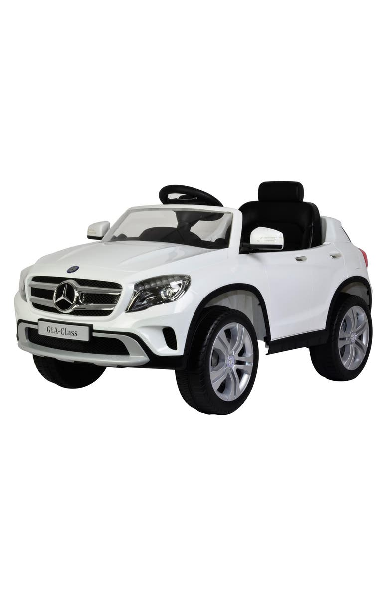 BEST RIDE ON CARS Mercedes GLA Ride-On Car, Main, color, WHITE