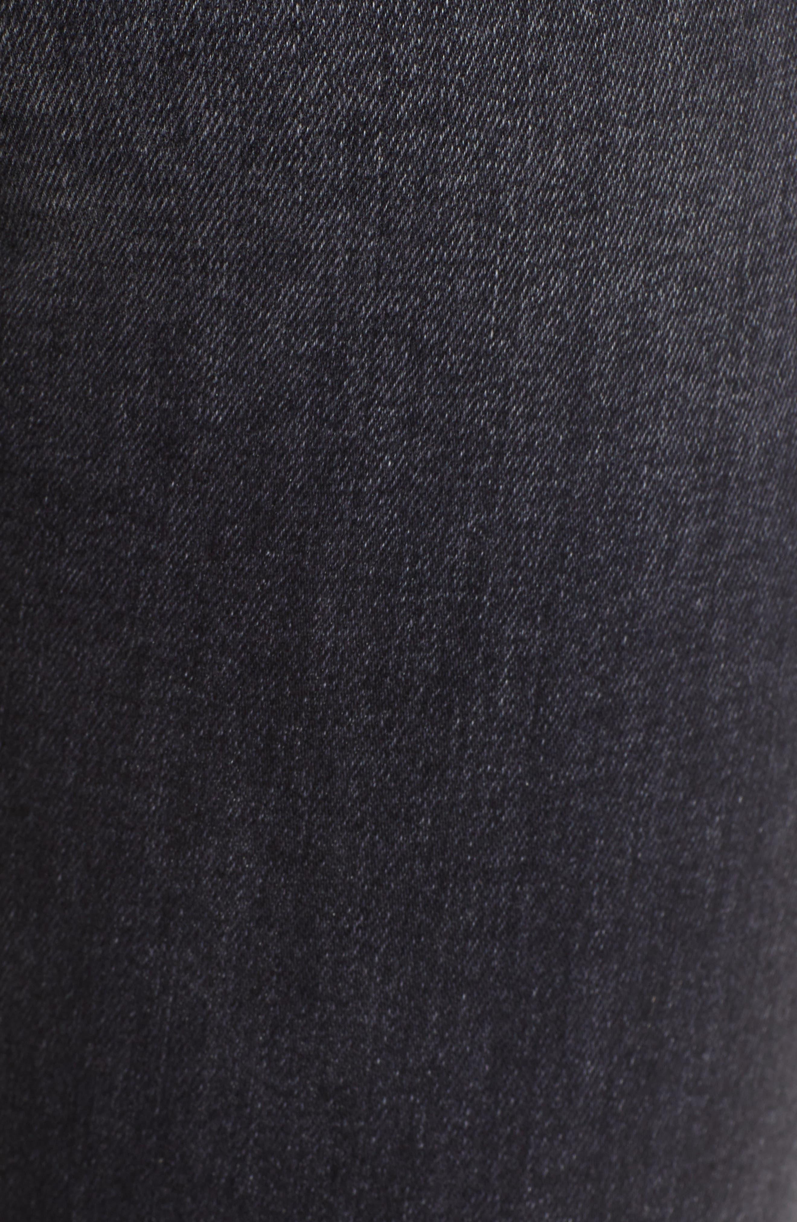 ,                             Barbara Distressed High Waist Ankle Skinny Jeans,                             Alternate thumbnail 6, color,                             WORN KONA