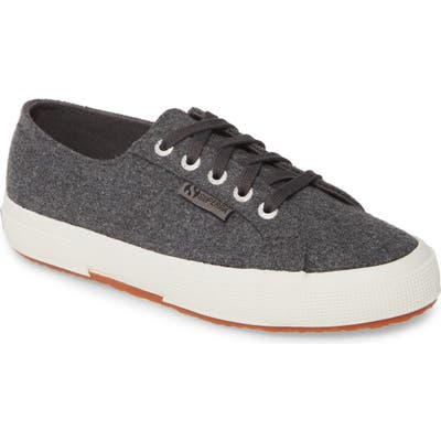 Superga 2750 Franelawoolw Low Top Sneaker - Grey