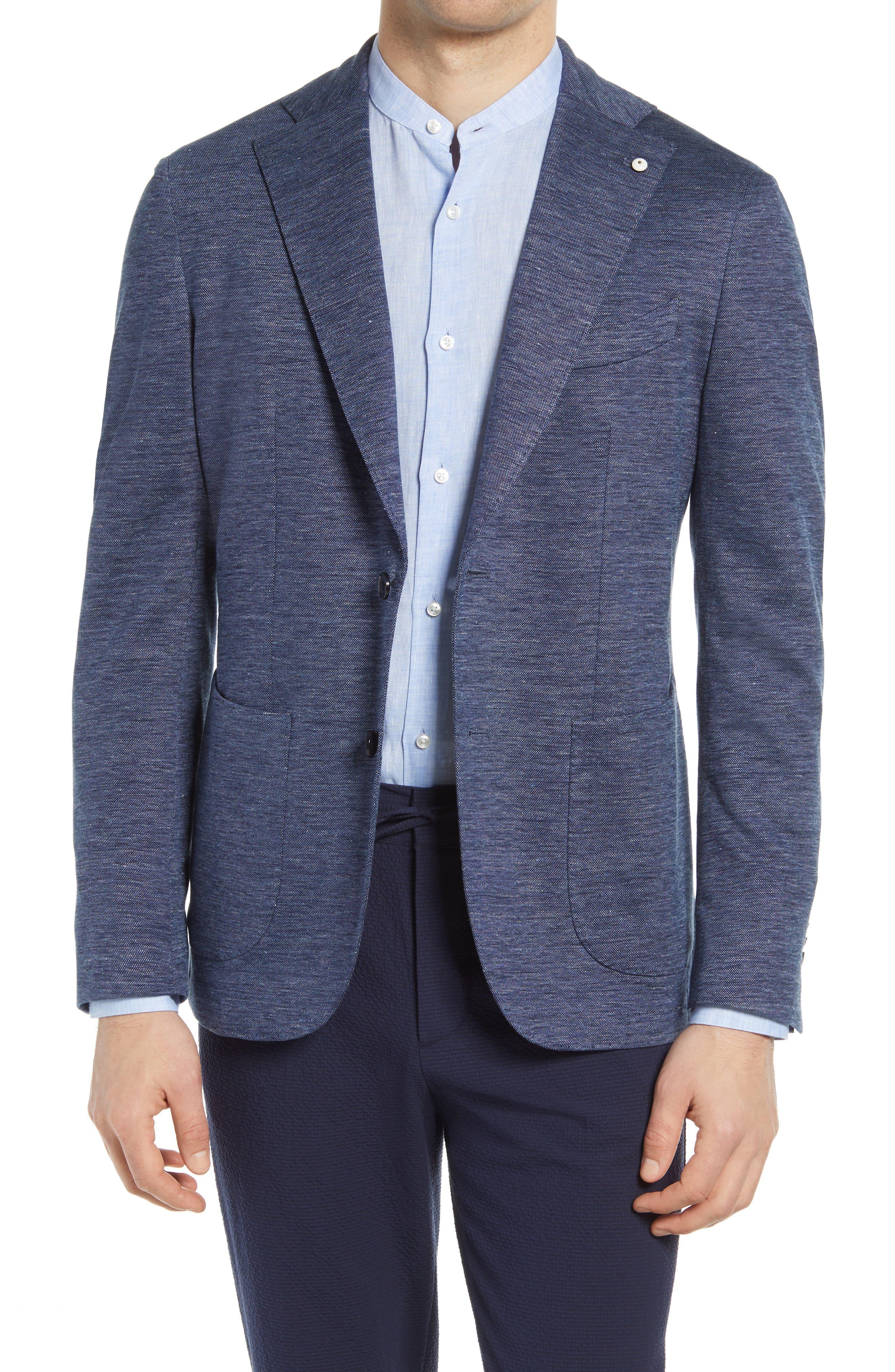 1911 Modern Fit Linen & Cotton Blend Sport Coat