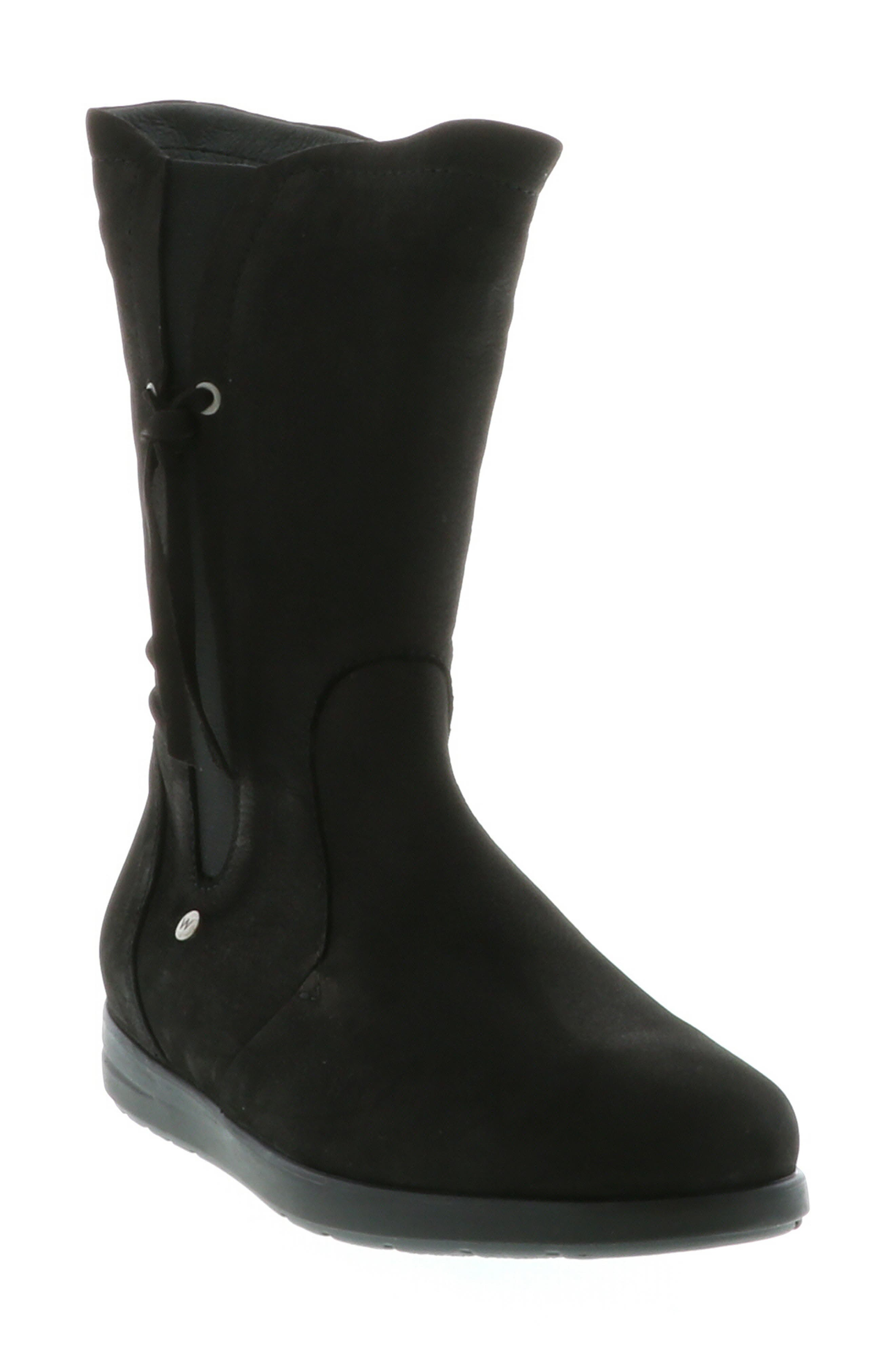 Wolky Newton Waterproof Boot-9 - Black