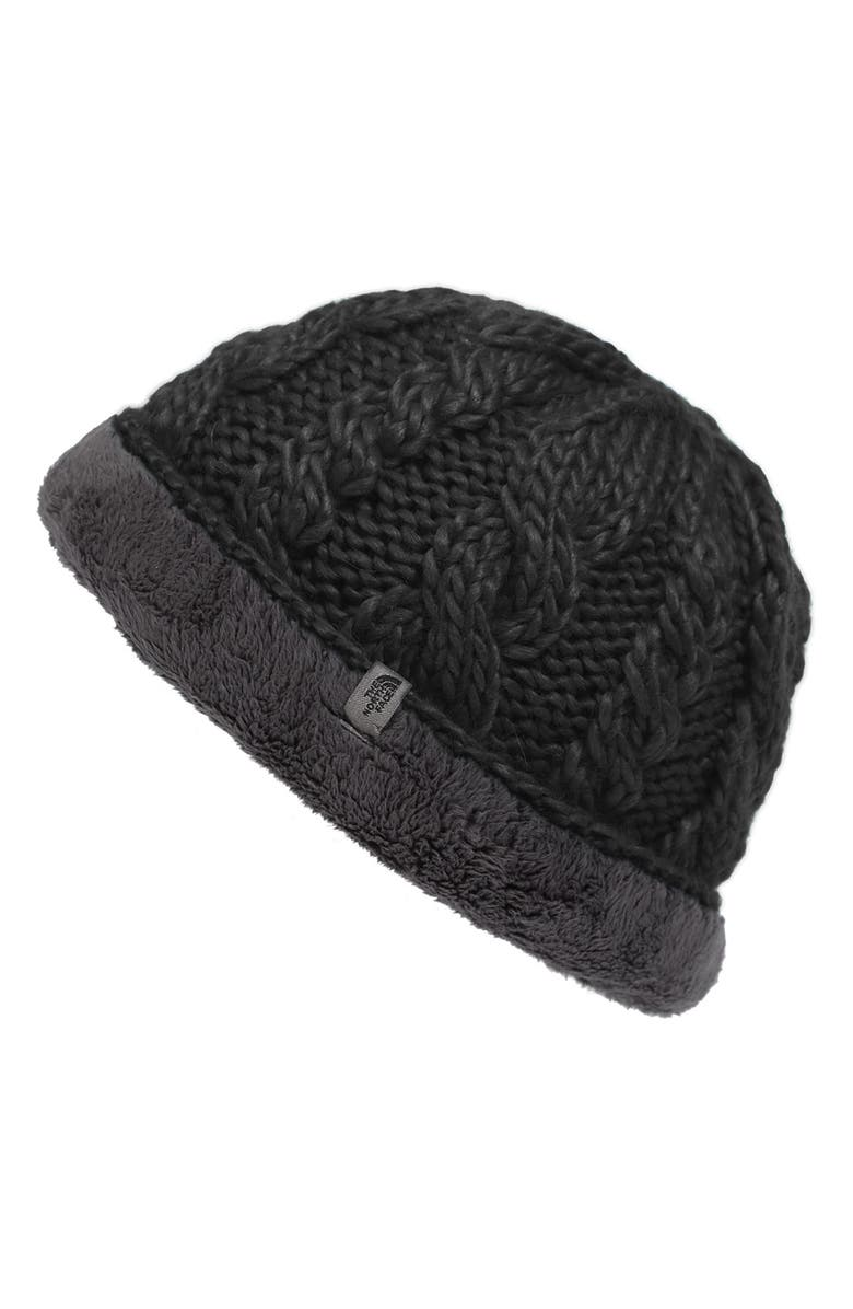 a8f756958 Fuzzy Cable Beanie