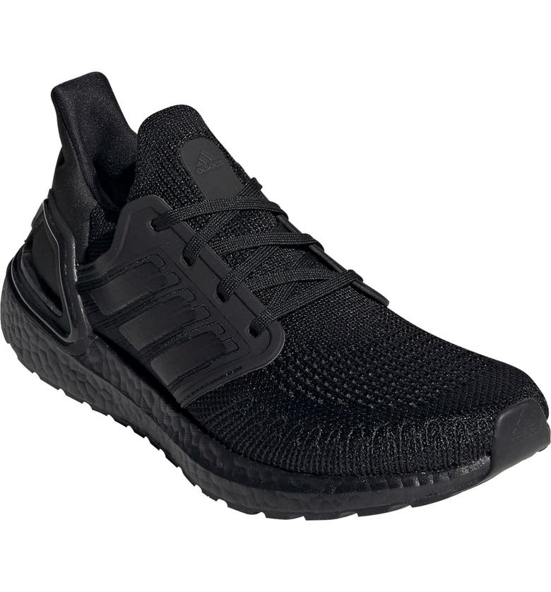 ADIDAS UltraBoost 20 Running Shoe, Main, color, CORE BLACK/ GREY FOUR