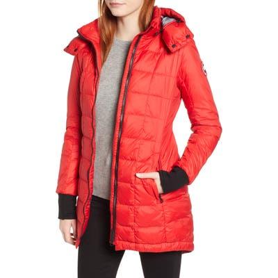 Canada Goose Ellison Packable Down Jacket, Red