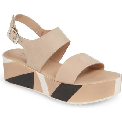 Matisse Geo Platform Sandal, Pink