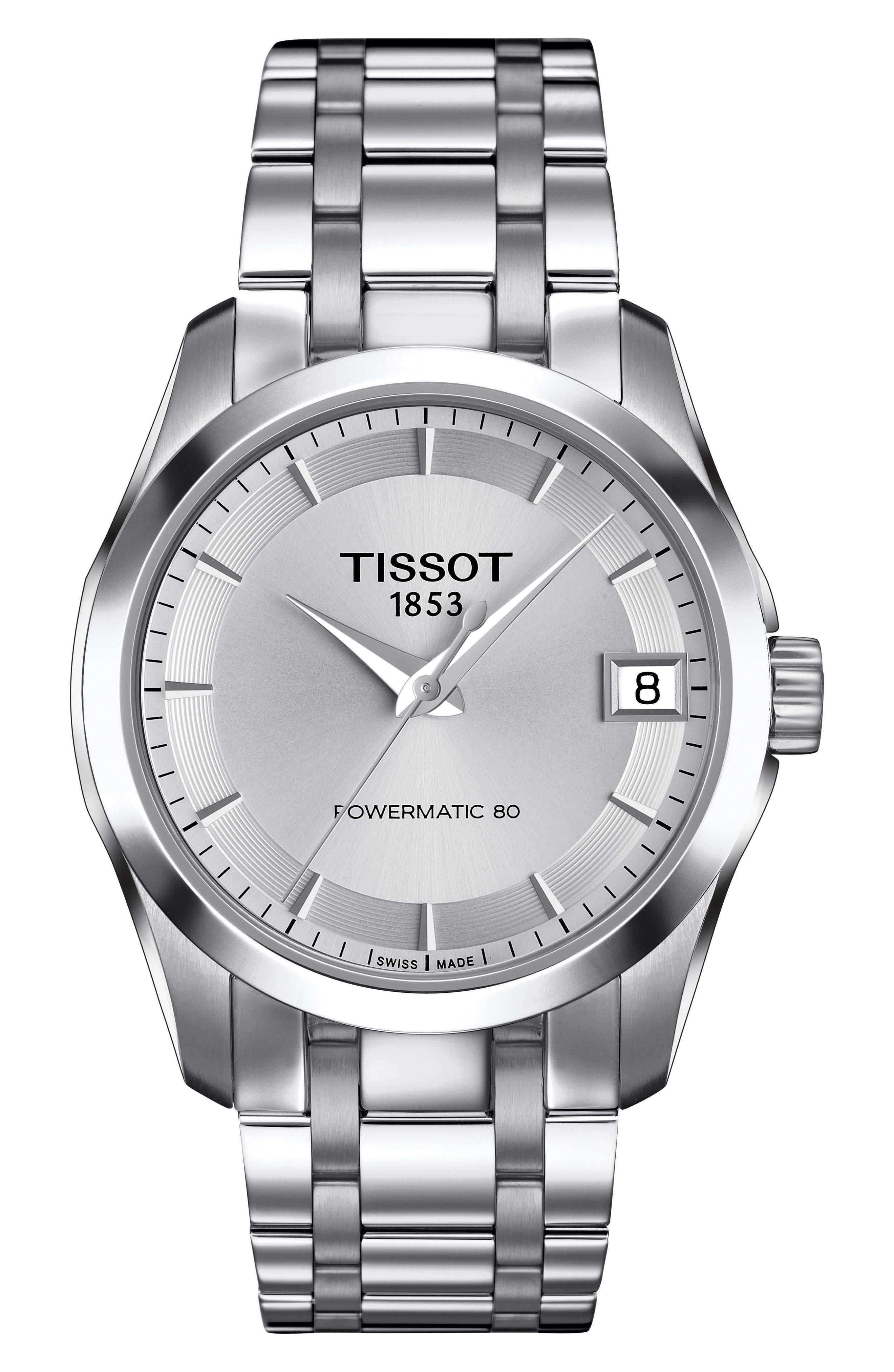 Image of Tissot Women's Couturier Bracelet Watch, 32mm