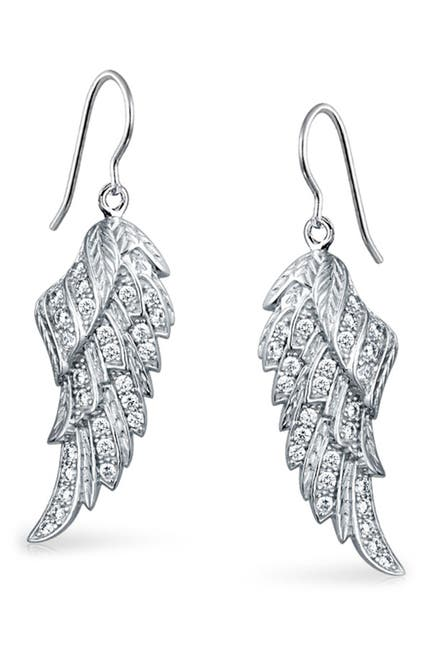 Image of Bling Jewelry Angelic CZ Earrings