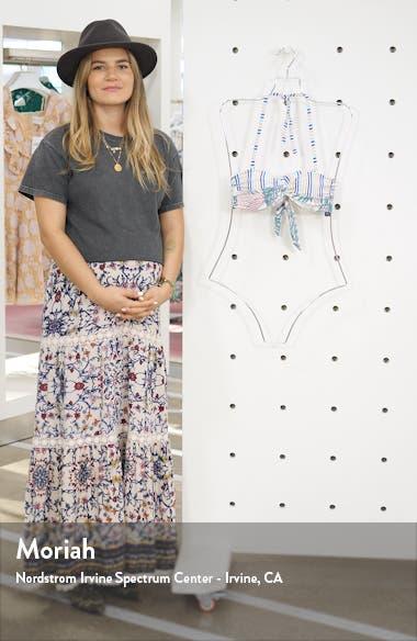Bahamas Sunset Bandeau Bikini Top, sales video thumbnail