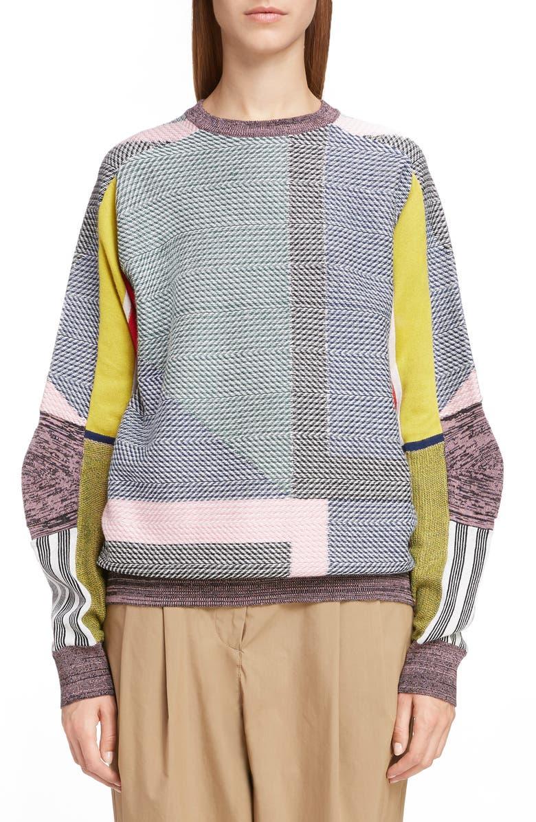TOGA Jacquard Sweater, Main, color, 300