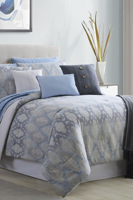 Image of Modern Threads King Langdon Comforter/Coverlet Set - Multi