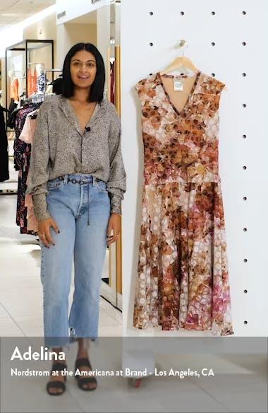 Abstract Dot Midi Dress, sales video thumbnail