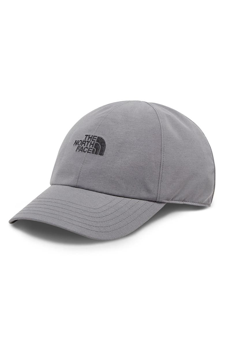 THE NORTH FACE Logo Gore-Tex<sup>®</sup> Cap, Main, color, MEDIUM GREY HEATHER/ ASPHALT