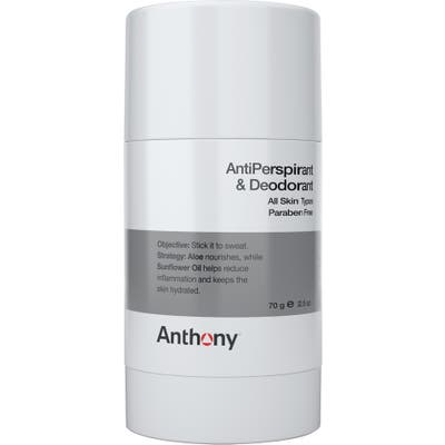 Anthony(TM) Antiperspirant & Deodorant