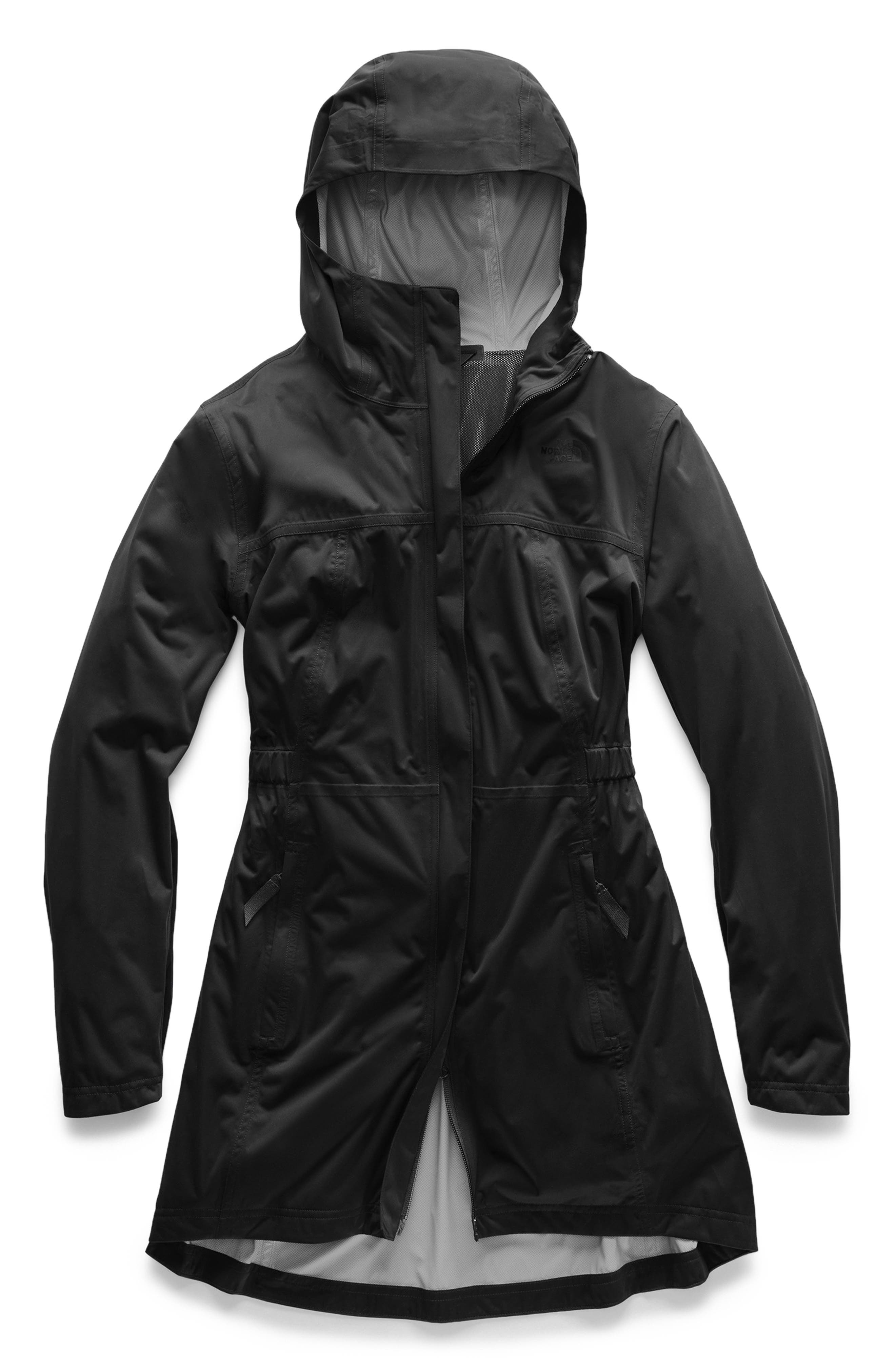 ,                             Allproof Stretch Parka,                             Main thumbnail 1, color,                             TNF BLACK