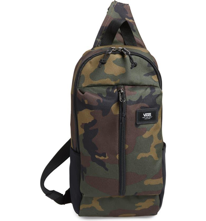 VANS Warp Sling Pack, Main, color, CLASSIC CAMO
