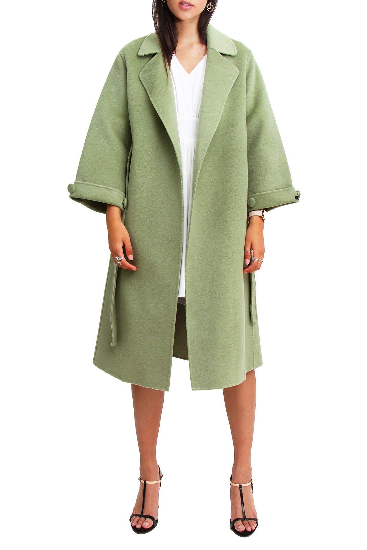 Image of Belle & Bloom Stay Wild Wool Coat