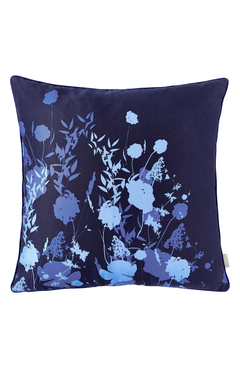 TED BAKER LONDON Bluebell Decorative Pillow, Main, color, BLUE