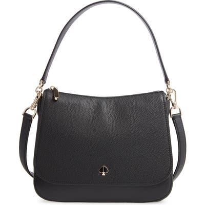 Kate Spade New York Medium Polly Leather Bag - Black