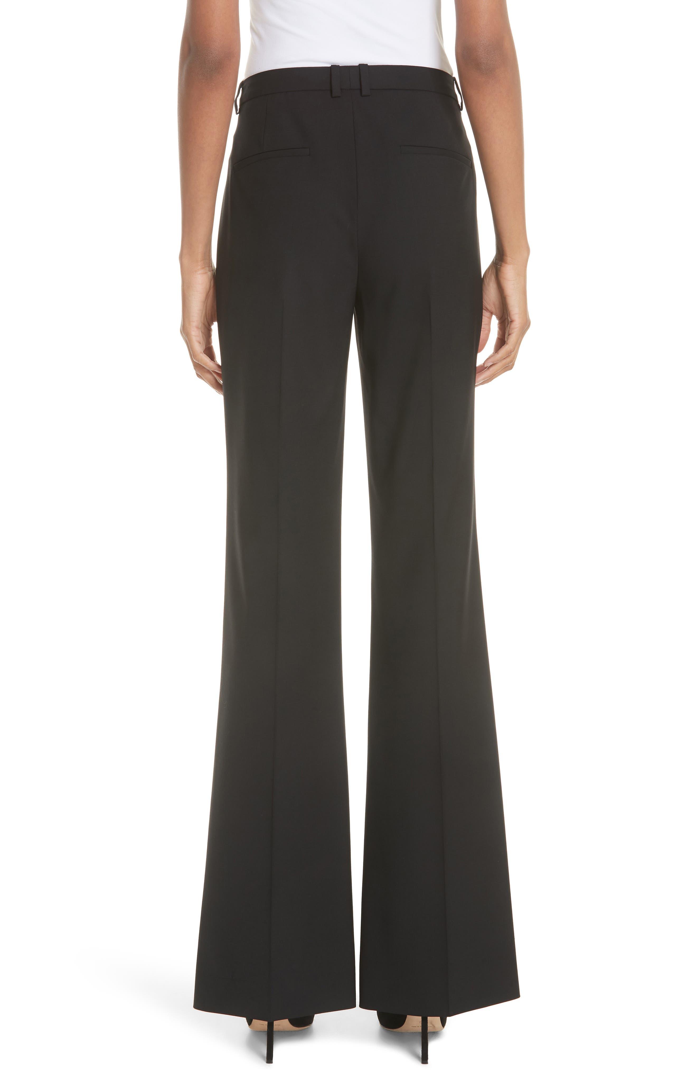 ,                             Demitria 2 Stretch Wool Suit Pants,                             Alternate thumbnail 2, color,                             BLACK