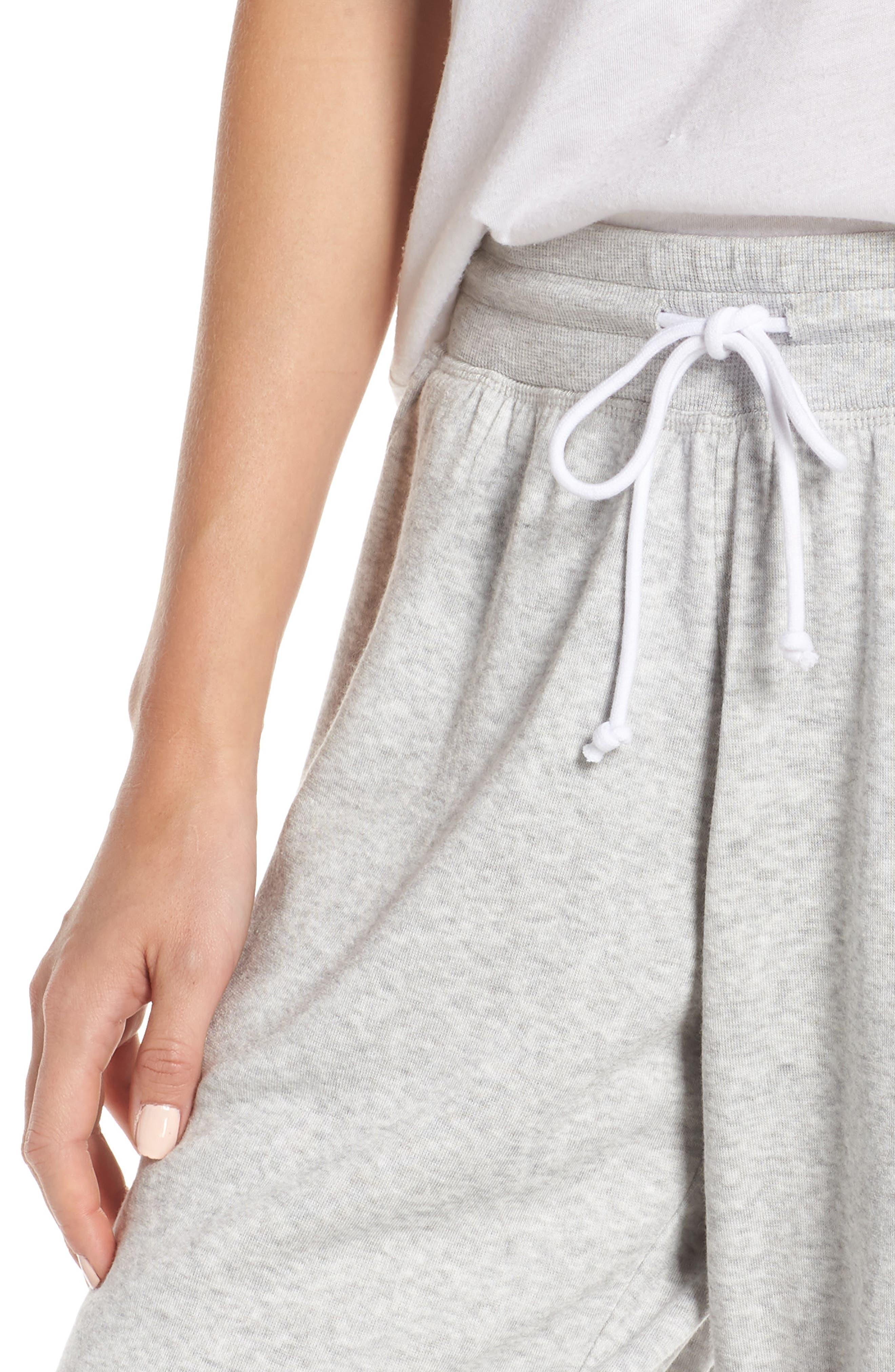 ,                             Cropped Fleece Pants,                             Alternate thumbnail 5, color,                             050