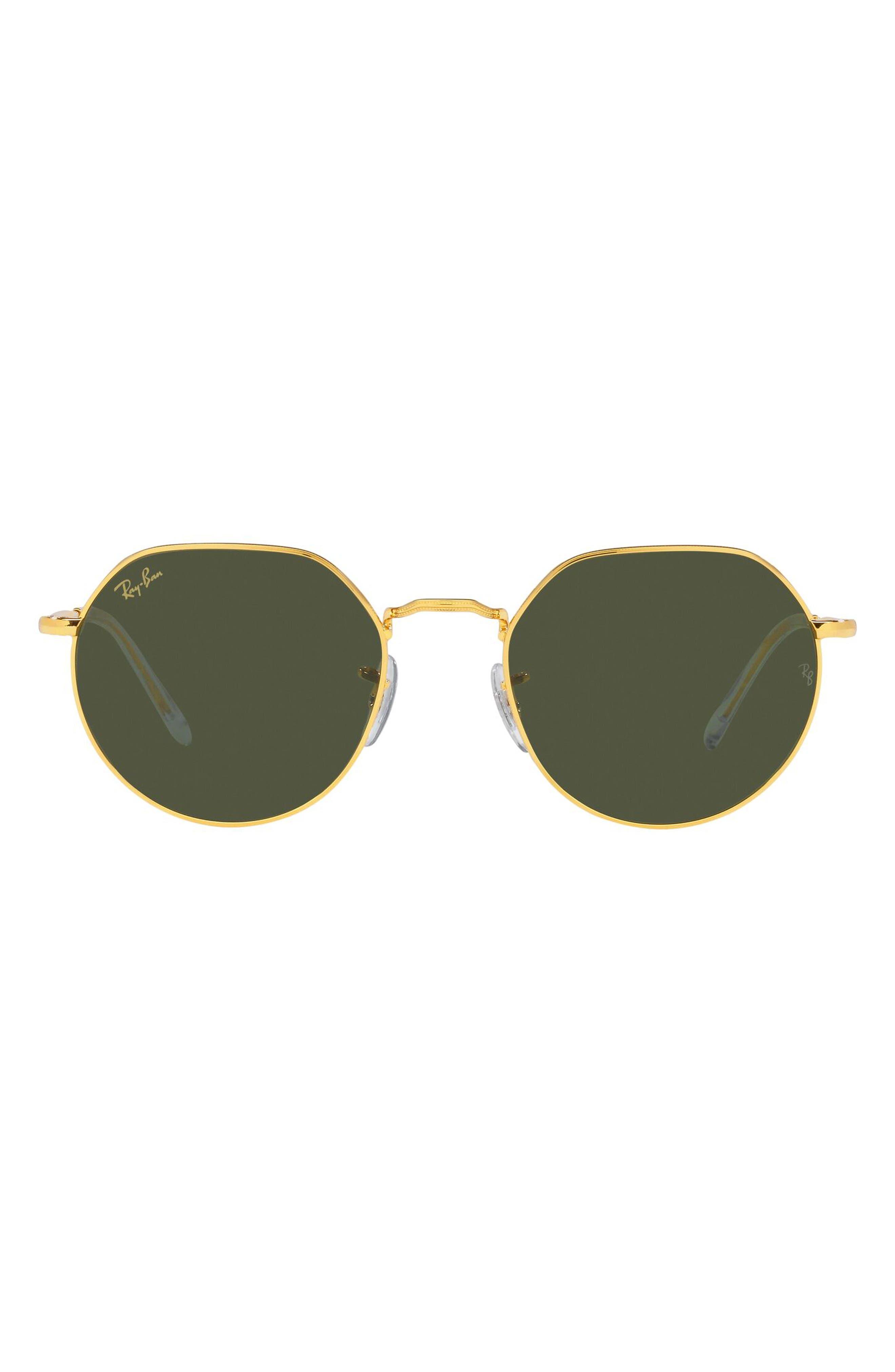 Women's Ray-Ban Jack 53mm Sunglasses - Legend Gold / Green