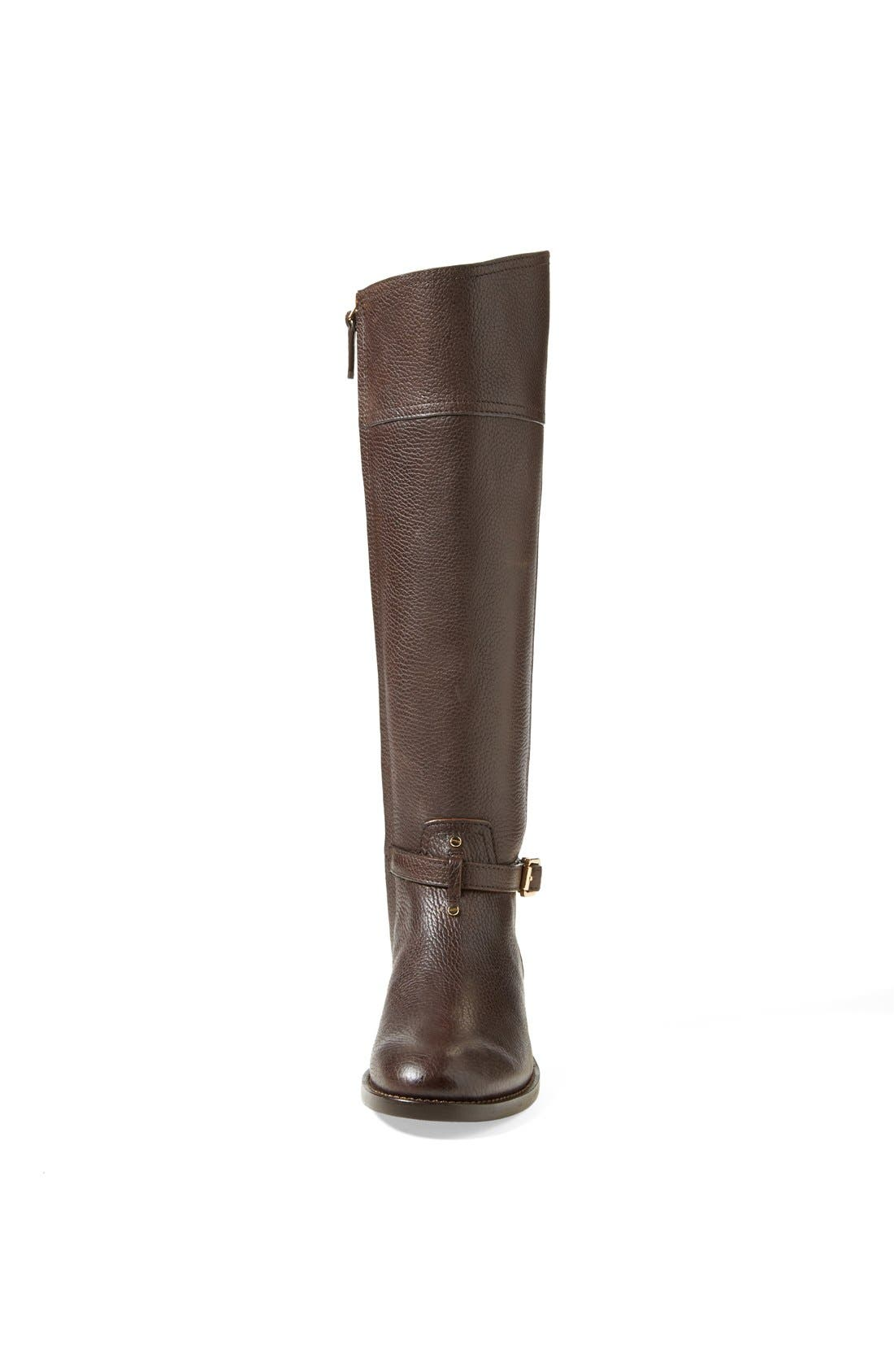 ,                             'Marlene' Leather Riding Boot,                             Alternate thumbnail 8, color,                             212