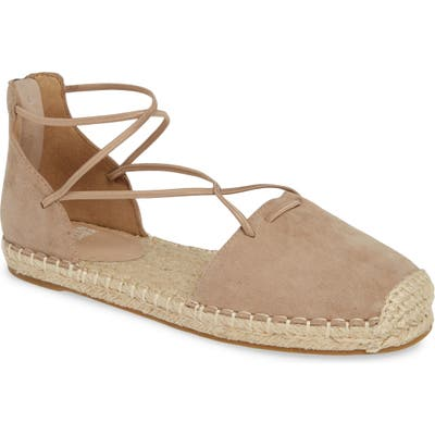 Eileen Fisher Lace Espadrille- Brown