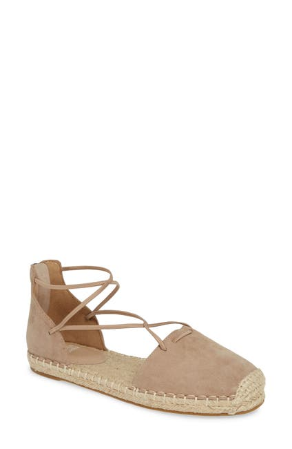 Image of Eileen Fisher Suede Espadrille Loafer
