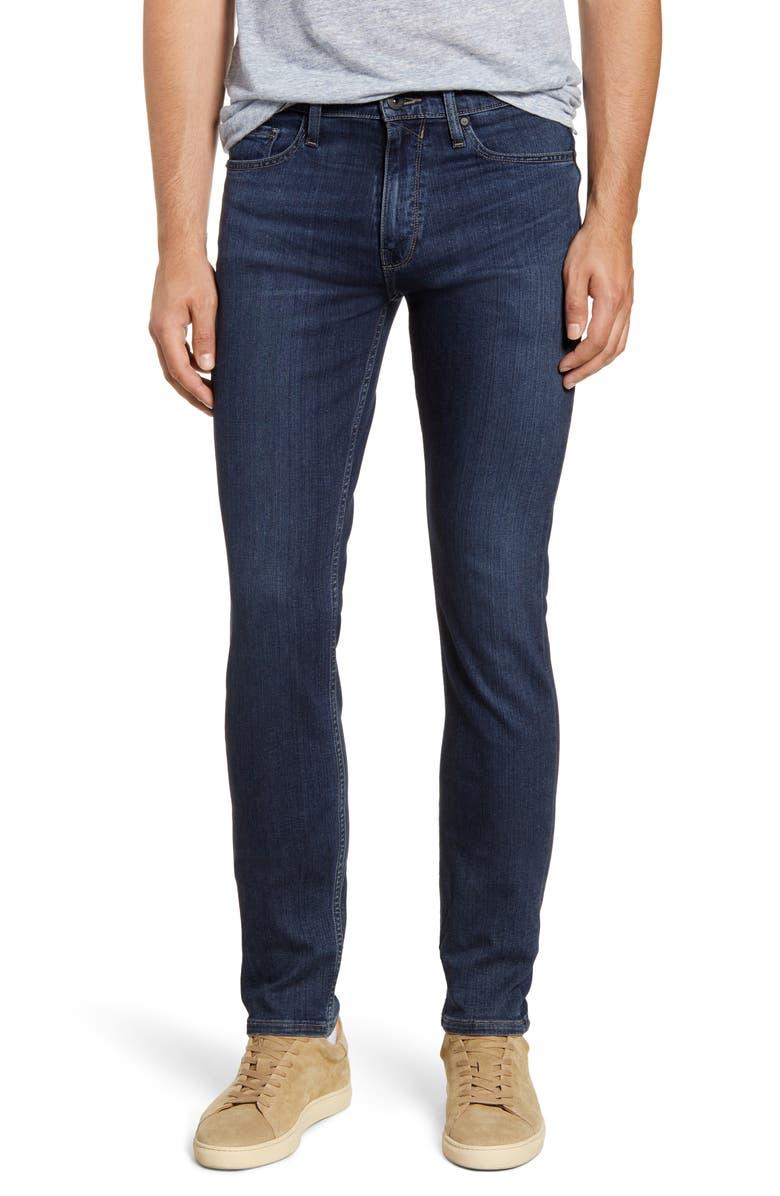 PAIGE Transcend Lennox Slim Fit Jeans, Main, color, MATHISON