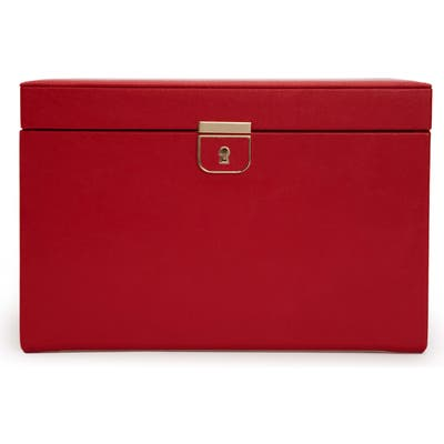 Wolf Palermo Large Jewelry Box - Red