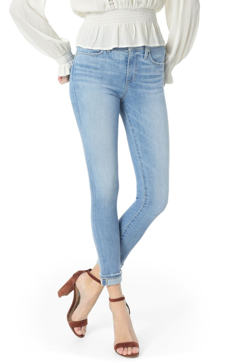 JOE'S Icon Crop Skinny Jeans, Main, color, 450