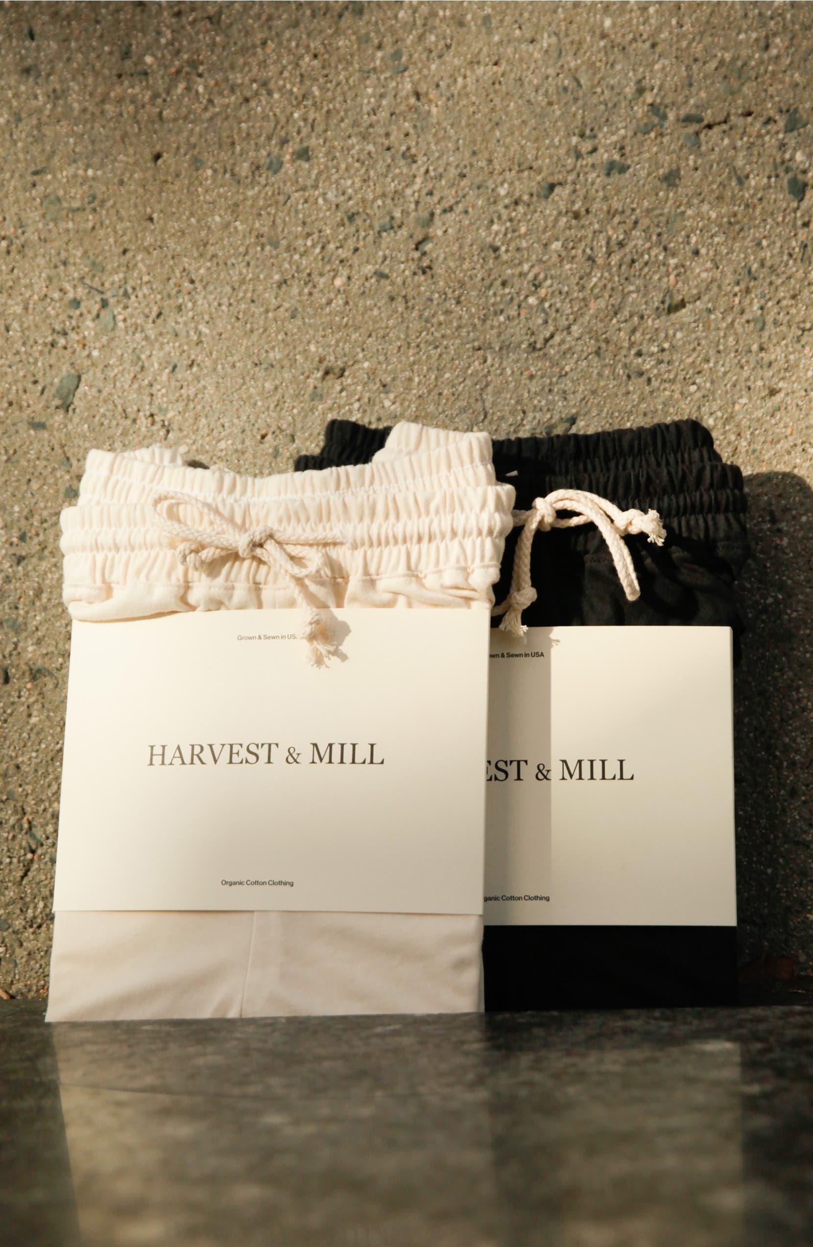 Harvest & Mill Organic Cotton Drawstring Pants