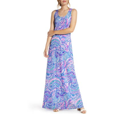 Lilly Pulitzer Treena Maxi Dress, Blue