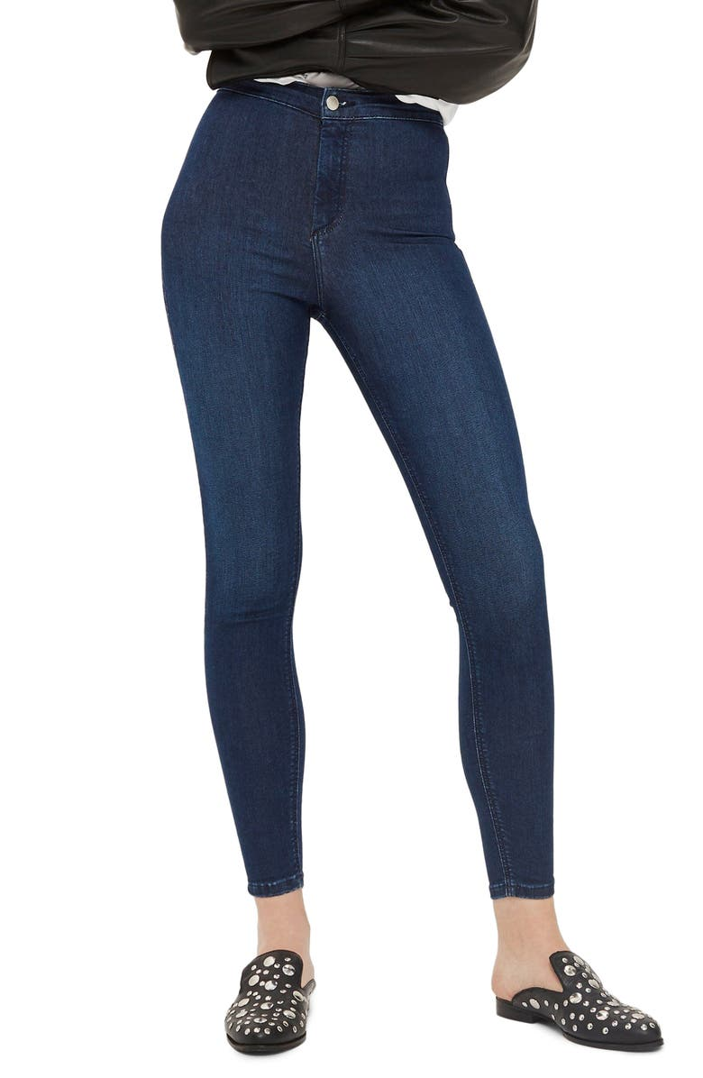 TOPSHOP Joni High Waist Jeans, Main, color, 401