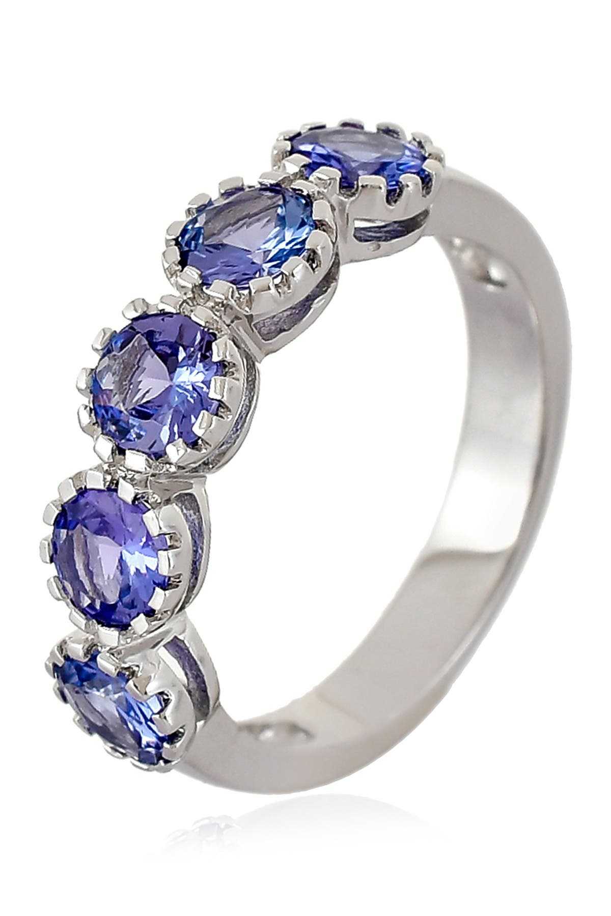 Image of Forever Creations USA Inc. Sterling Silver Tanzanite Ring