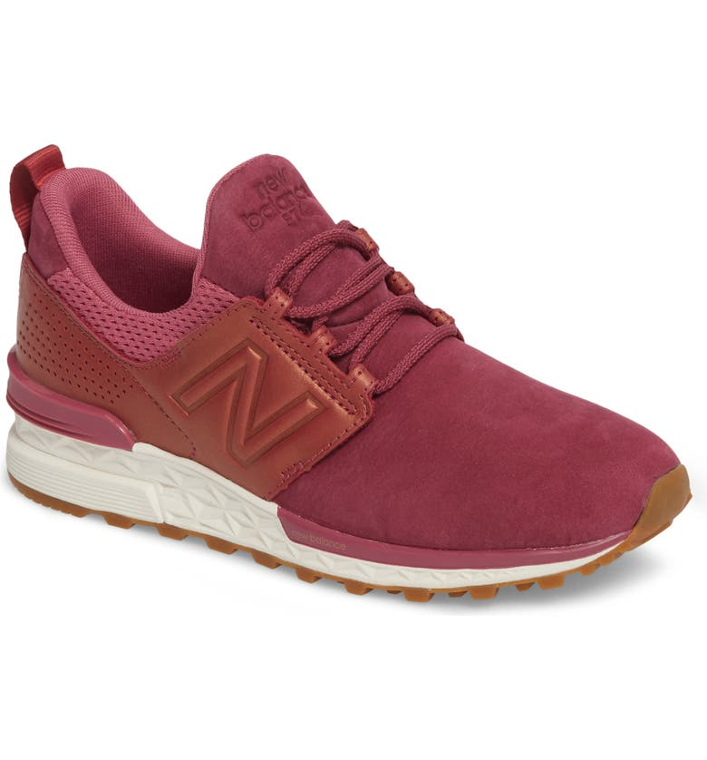 sale retailer 53595 142b7 New Balance Nubuck 574 Sport Sneaker (Women) | Nordstrom