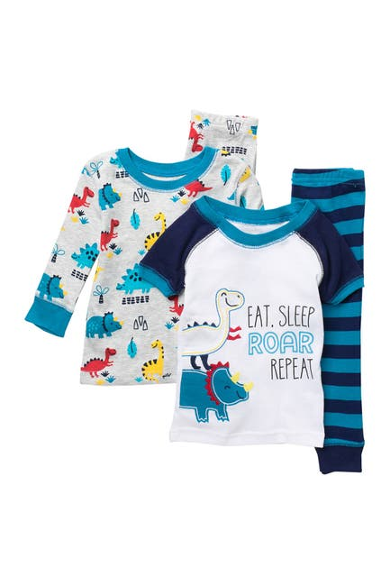 Image of koala baby Printed Pajamas - 4-Piece Set