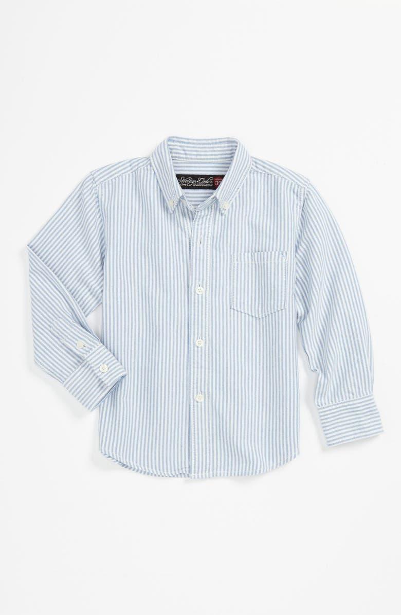 SOVEREIGN CODE Oxford Cloth Woven Shirt, Main, color, 100