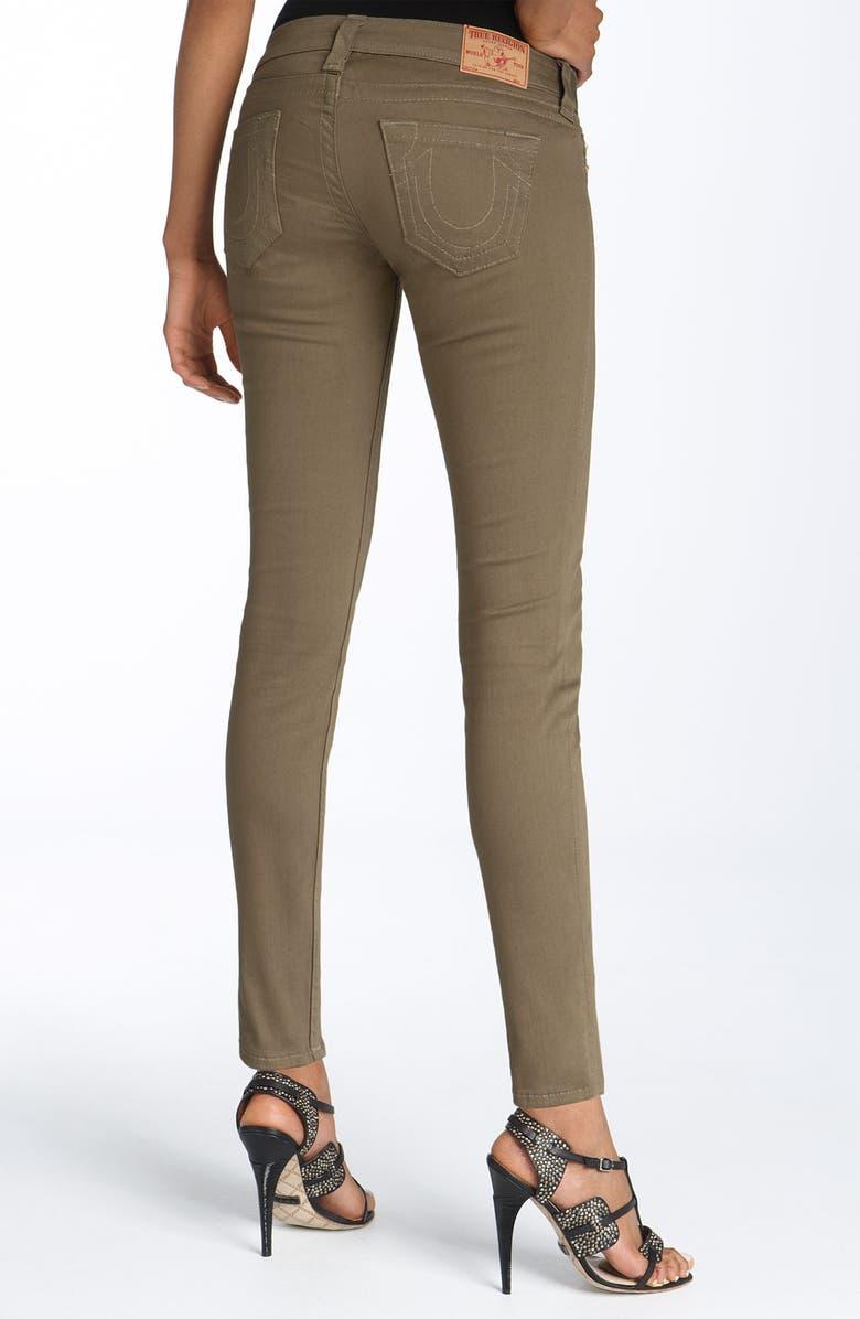 0aca9a4d2 True Religion Brand Jeans  Casey  Stretch Denim Leggings (Olive ...