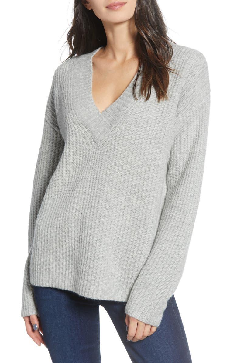 CHELSEA28 V-Neck Sweater, Main, color, 050