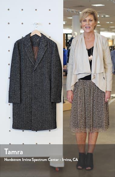 Leon Herringbone Coat, sales video thumbnail