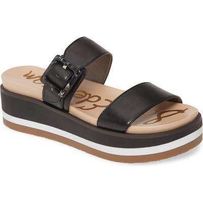 Sam Edelman Agustine Platform Sandal, Black