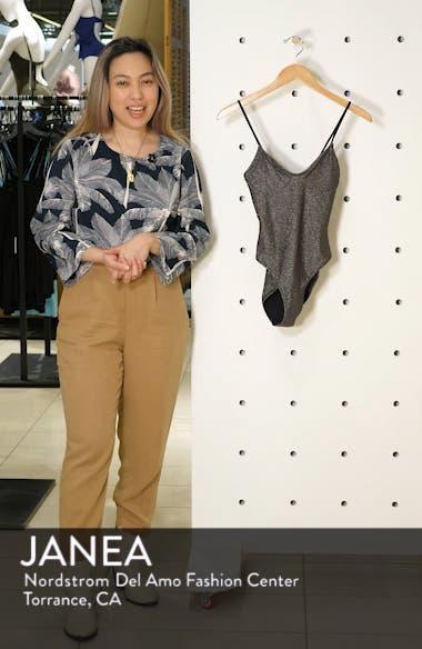 Metallic Cami Swimsuit, sales video thumbnail
