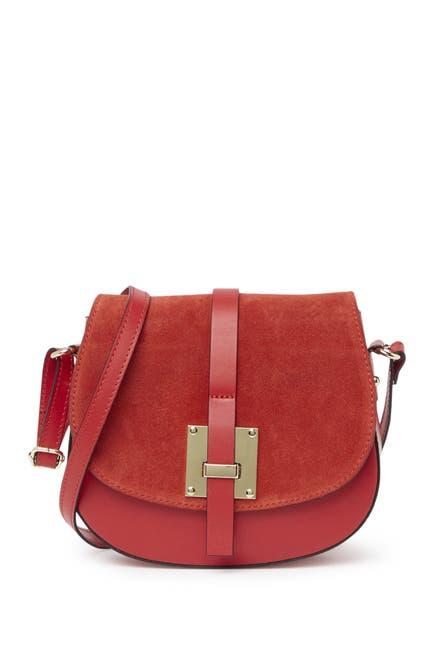 Image of Sofia Cardoni Leather Crossbody Bag