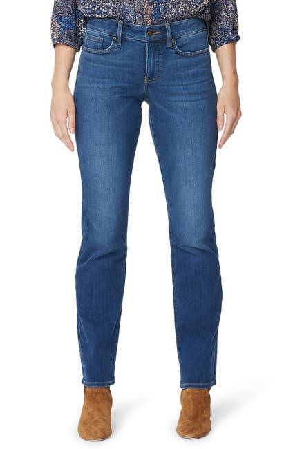 Image of NYDJ Marilyn Stretch Straight Leg Jeans
