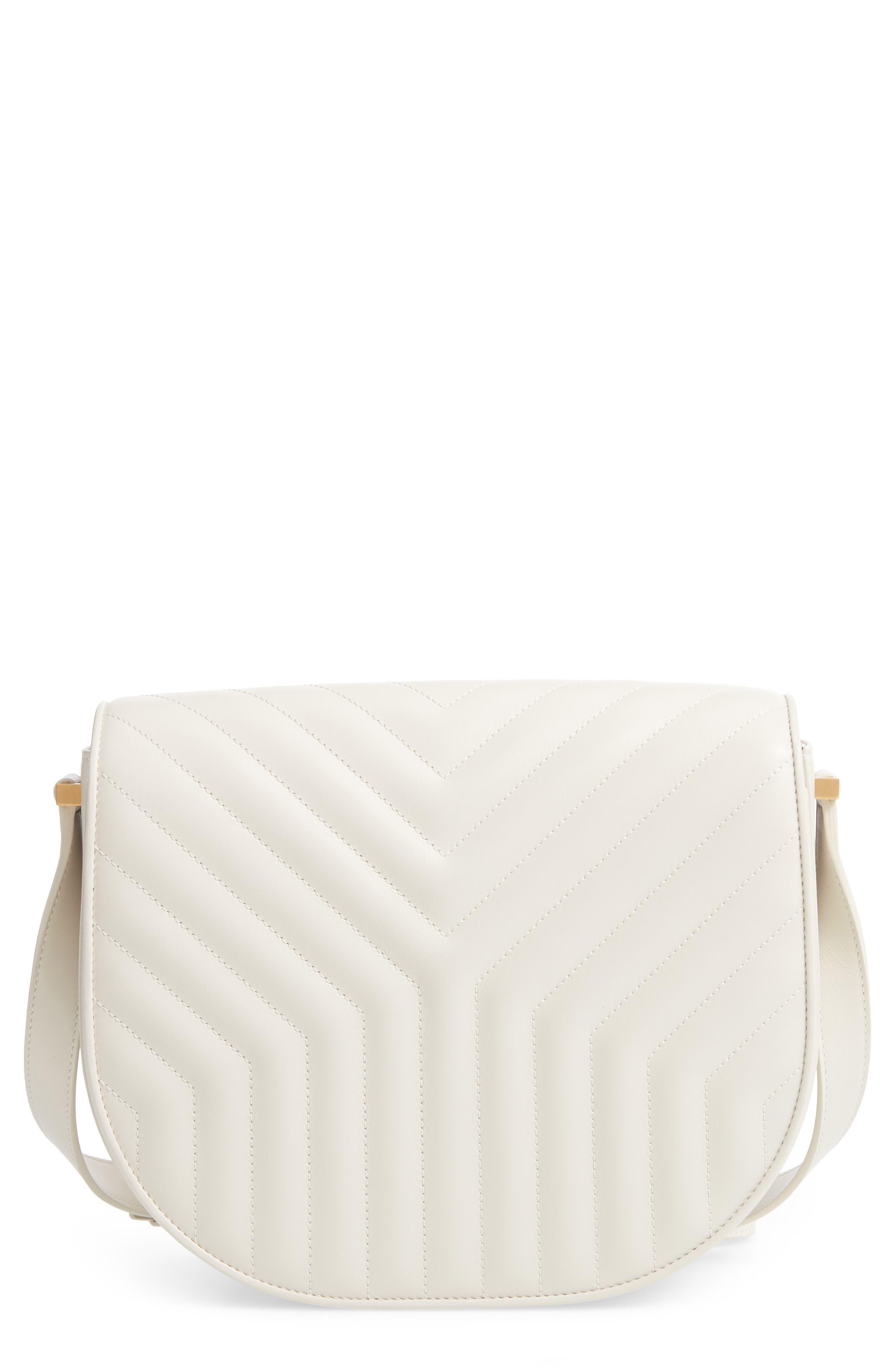 Saint Laurent Joan Quilted Leather Shoulder Bag | Nordstrom