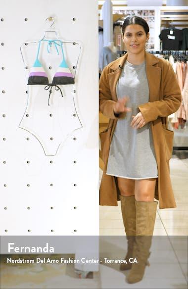 Circuit Colorblock Triangle Bikini Top, sales video thumbnail