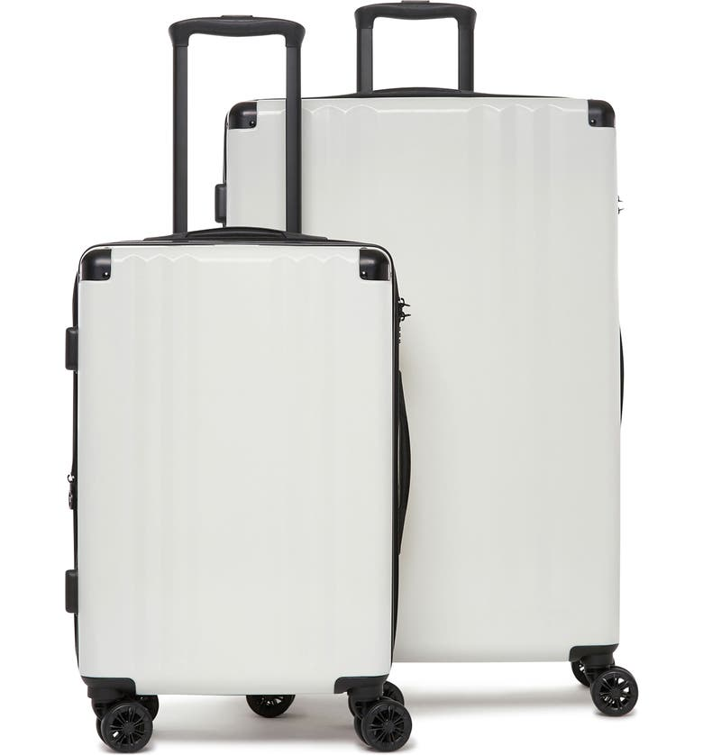 CALPAK Ambeur 2-Piece Spinner Luggage Set, Main, color, WHITE